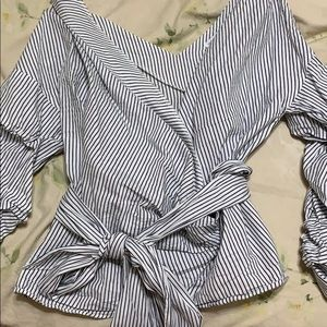 Vagabond striped top